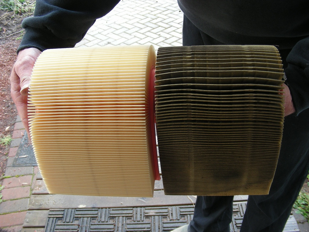 Dirty Air Filter Car Dirty Free Engine Image For User